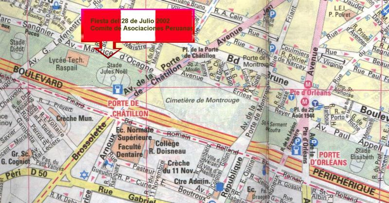 Comit d 39 associations peruviennes en france - 23 avenue de la porte de chatillon 75014 paris ...